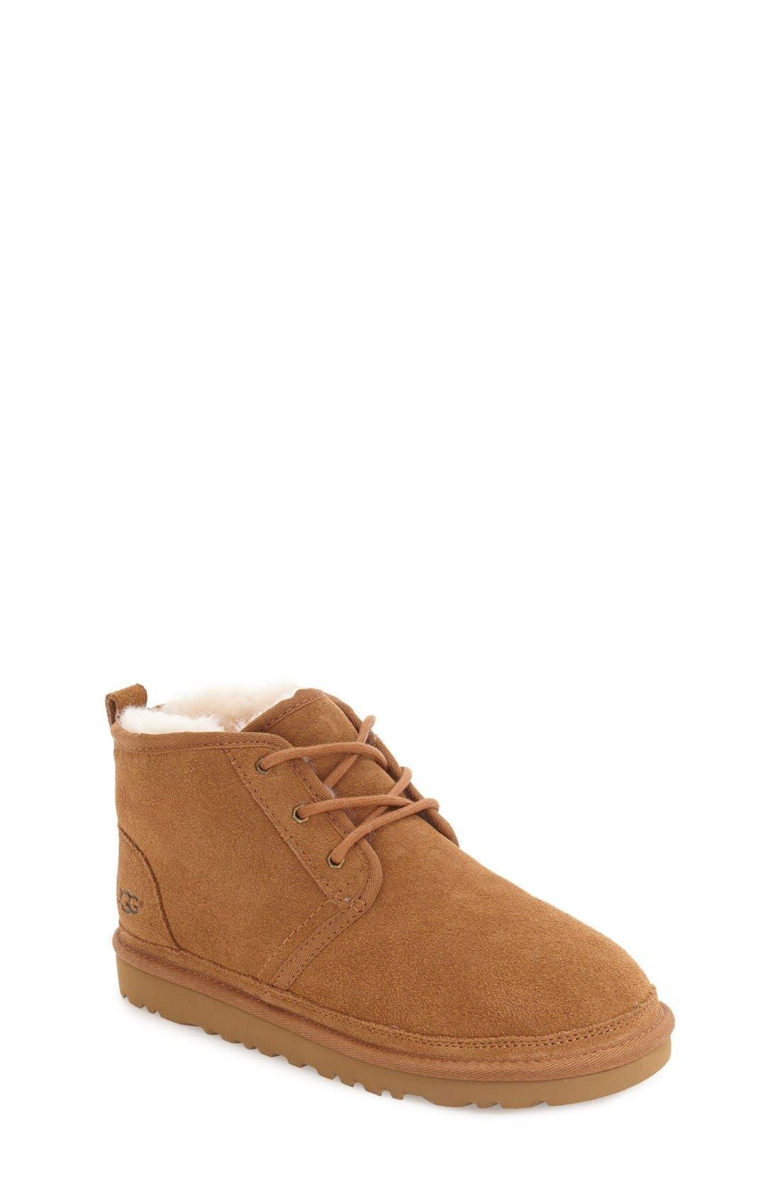 UGG® Neumel Genuine Shearling Boot (Walker, Toddler, Little Kid & Big Kid)