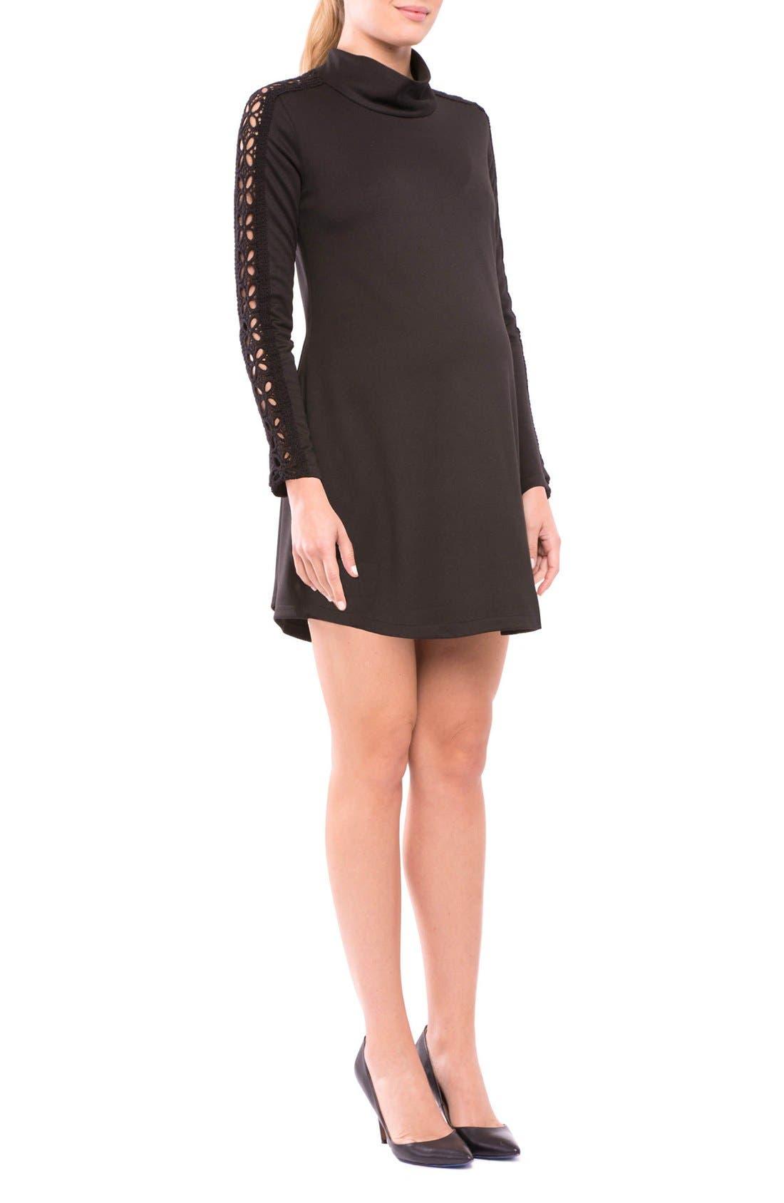 Alternate Image 3  - Olian Caroline Maternity Dress