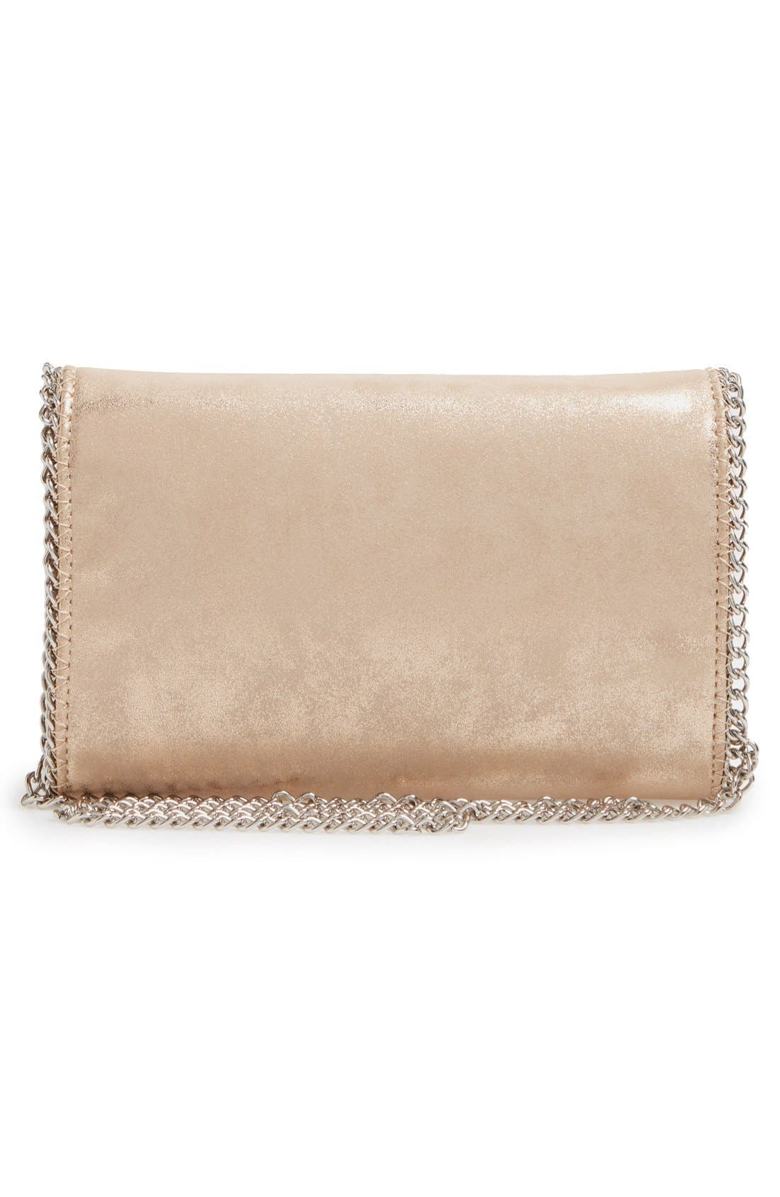 Alternate Image 3  - Chelsea28 Faux Leather Clutch