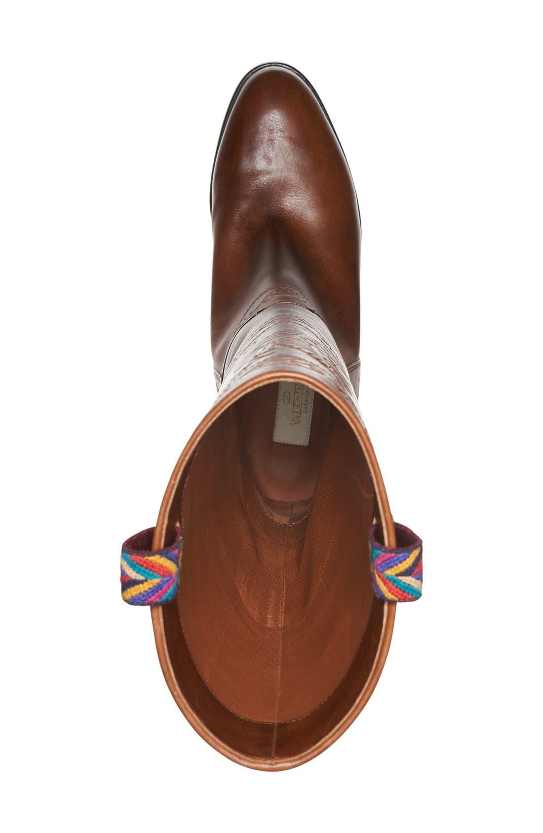 Alternate Image 3  - Valentino 'Rockstud' Embossed Boot (Women)