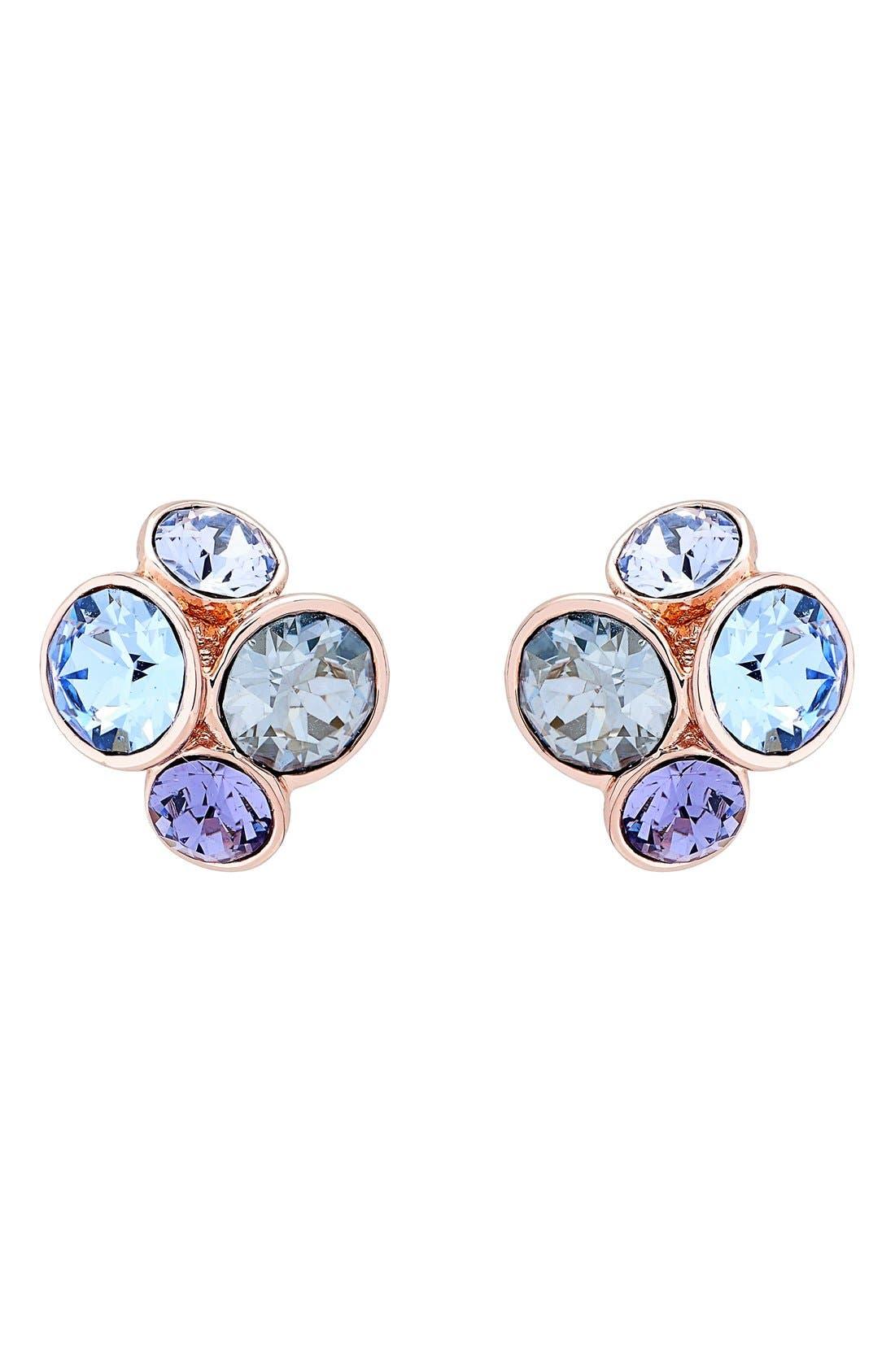 Ted Baker London Lynda Jewel Cluster Stud Earrings