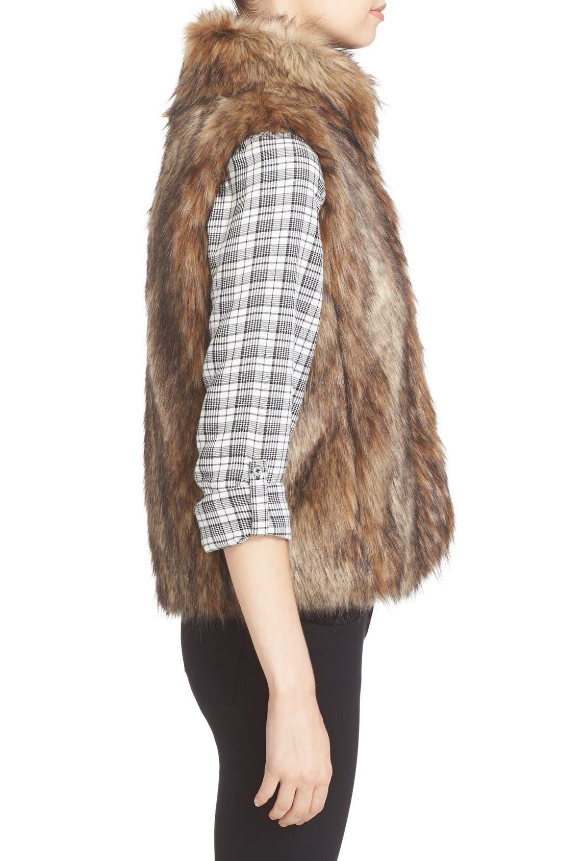 Alternate Image 3  - Soft Joie Narasha Faux Fur Vest