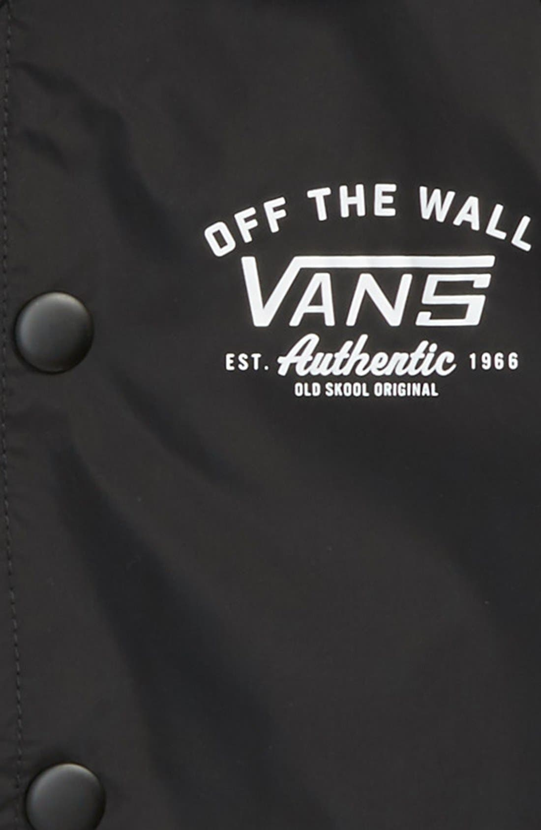 'Torrey' Nylon Jacket,                             Alternate thumbnail 2, color,                             Black