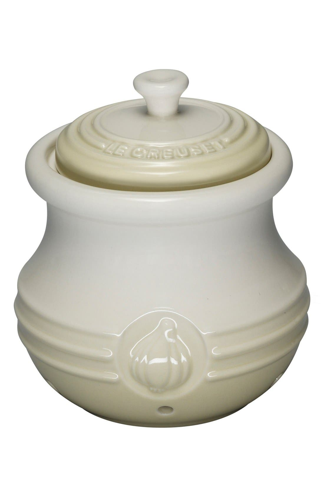 Alternate Image 1 Selected - Le Creuset Petite Stoneware Garlic Cocotte