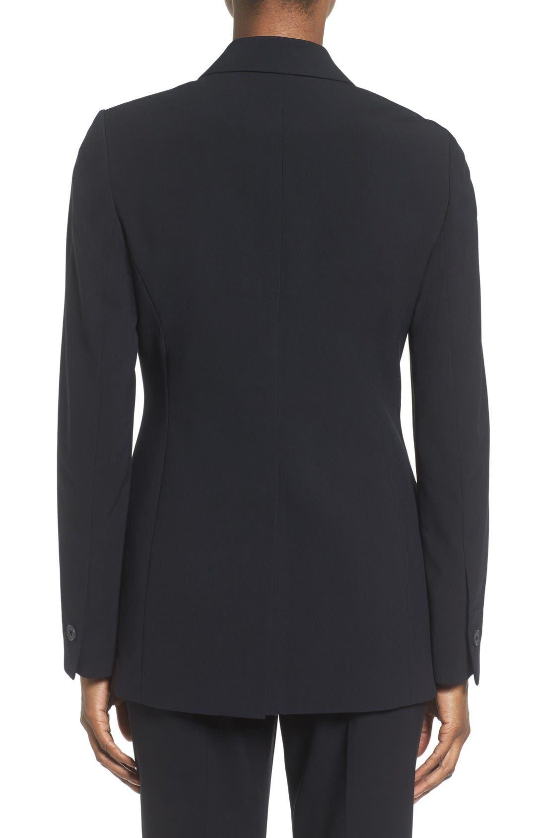 Alternate Image 3  - Anne Klein Long Boyfriend Suit Jacket