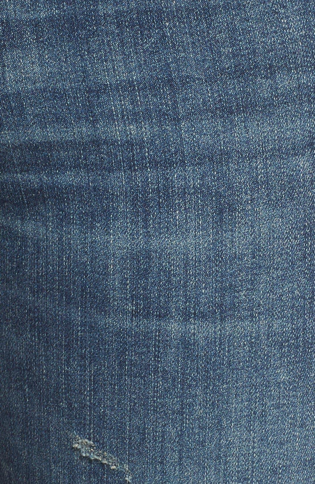 Alternate Image 6  - AGOLDE Sophie Crop High Rise Skinny Jeans (Santa Fe) (Women)