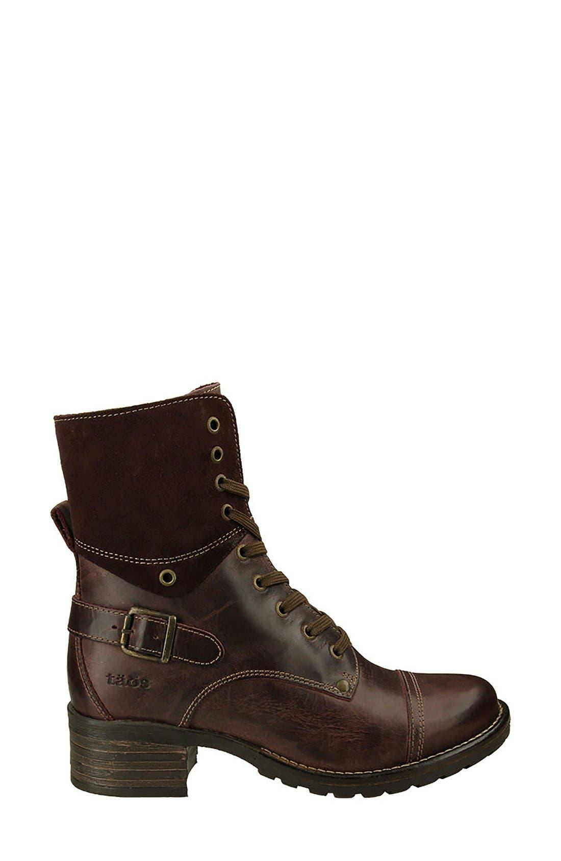 Crave Boot,                             Alternate thumbnail 4, color,                             Bordeaux Leather