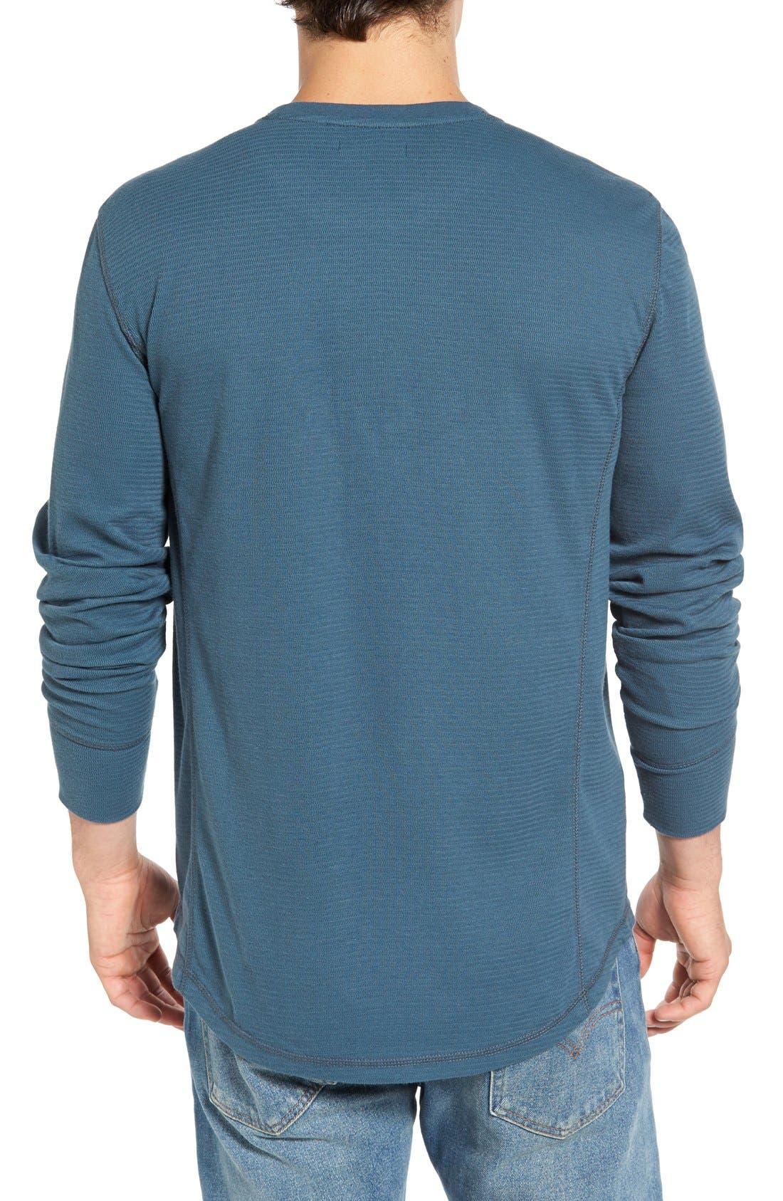 Alternate Image 2  - Jeremiah Larsen Zigzag Thermal T-Shirt