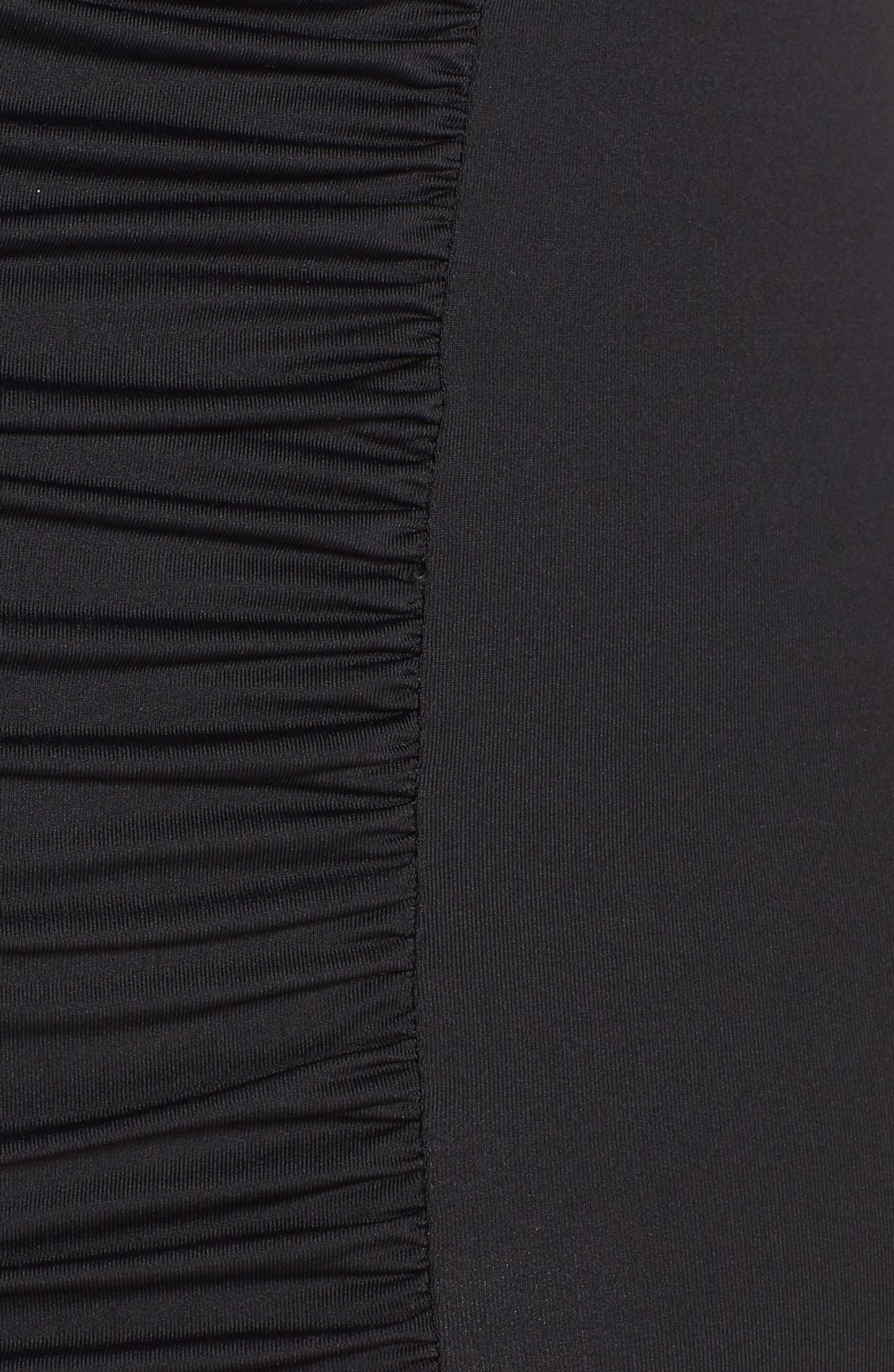 Alternate Image 5  - Becca Etc. Color Code High Waist Bikini Bottoms (Plus Size)