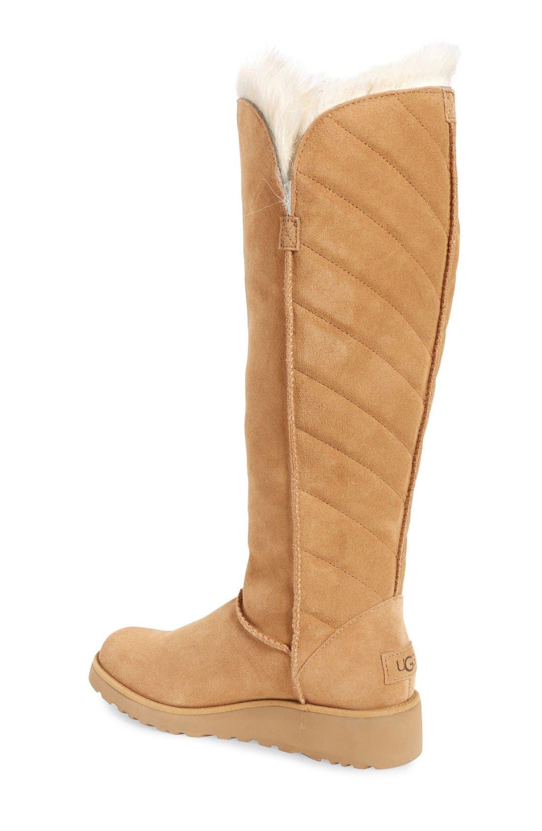 Alternate Image 2  - UGG® 'Rosalind' Tall Boot (Women)