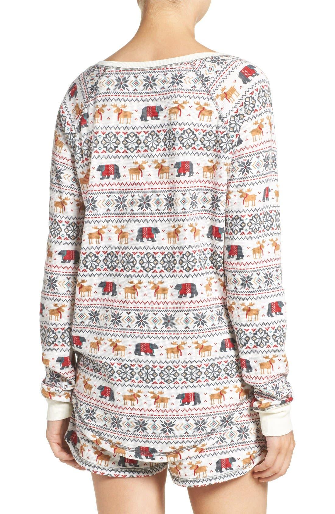Alternate Image 2  - PJ Salvage Thermal Pajamas