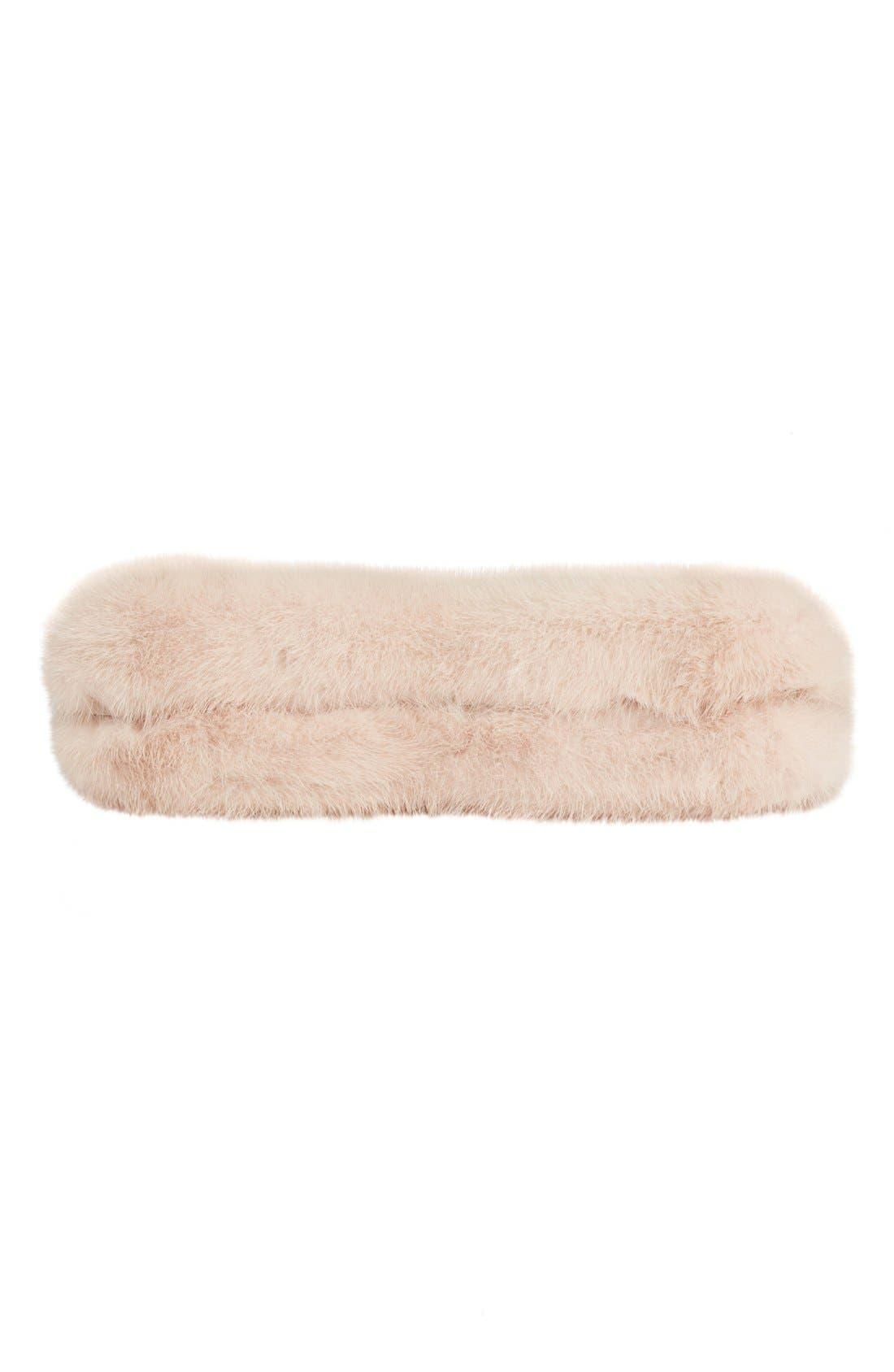 Alternate Image 5  - Alexander McQueen Knuckle Clasp Genuine Mink Fur Box Clutch