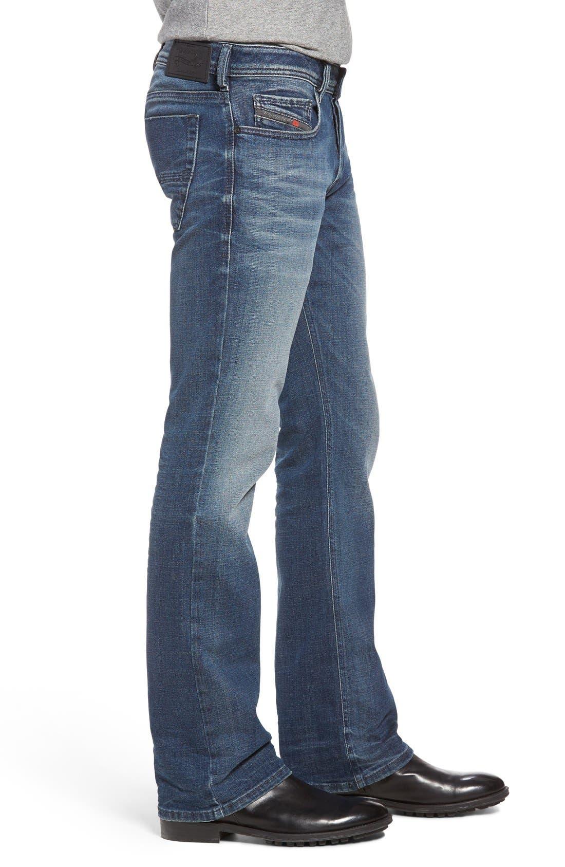Zatiny Bootcut Jeans,                             Alternate thumbnail 3, color,                             857N