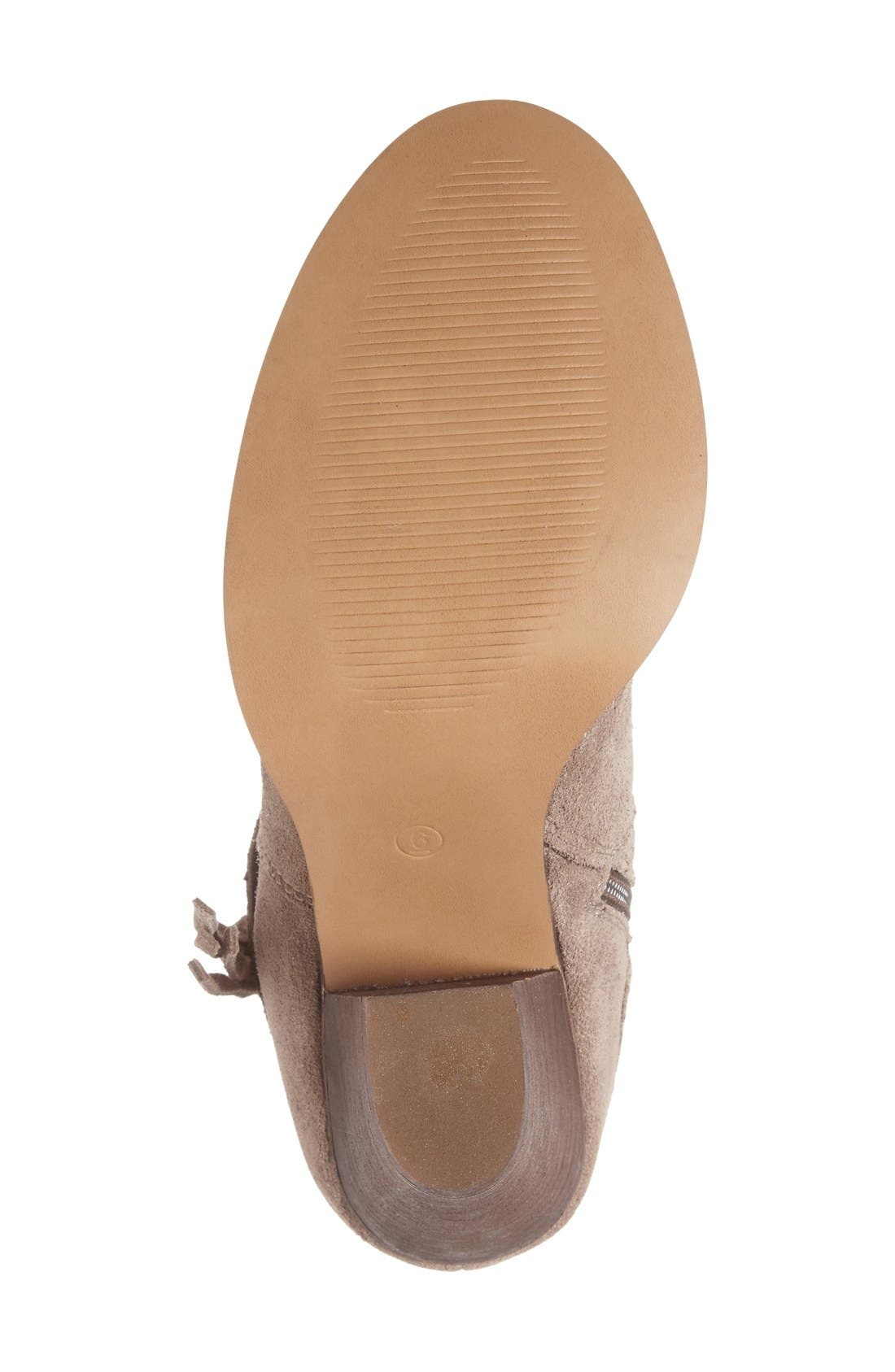 Rumi Bootie,                             Alternate thumbnail 4, color,                             Taupe