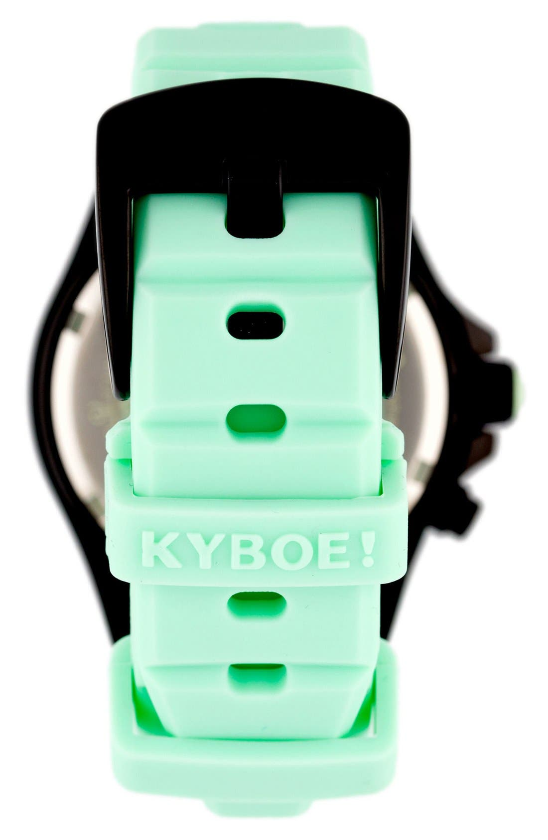 Alternate Image 3  - KYBOE! Power Silicone Strap Watch, 48mm
