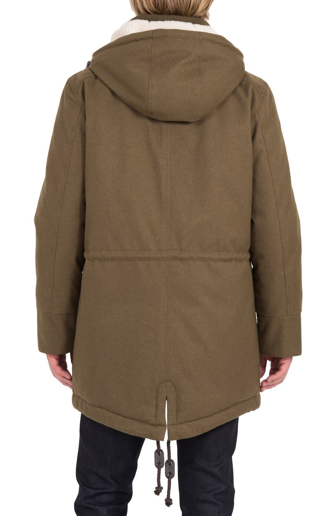 Fishtail Parka,                             Alternate thumbnail 2, color,                             Military