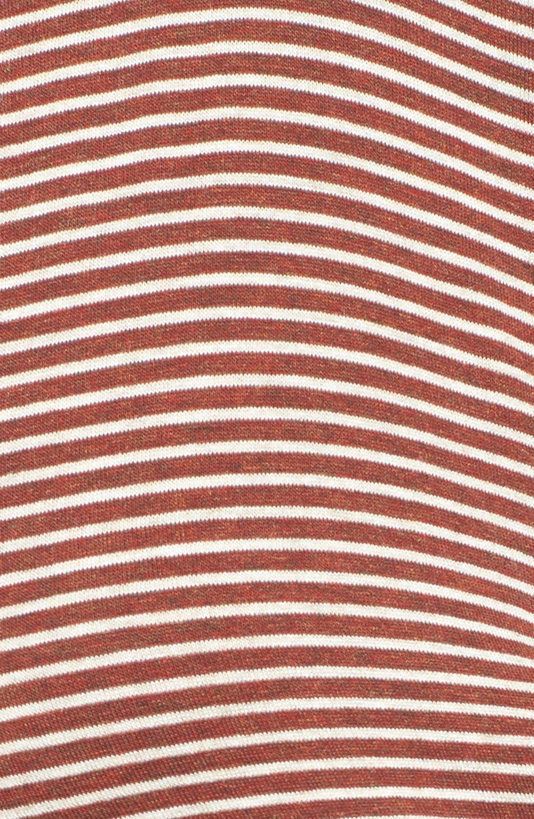 Alternate Image 5  - Lush Stripe V-Neck Tee