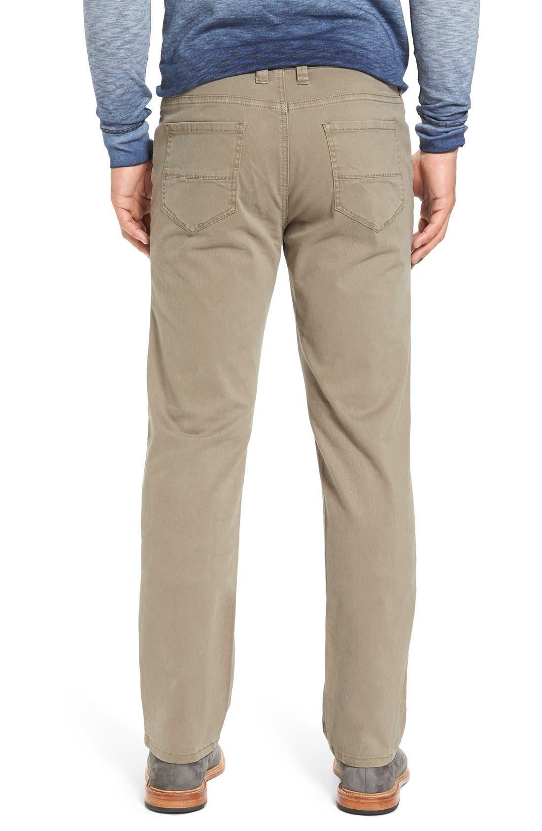 Alternate Image 2  - Tommy Bahama 'Santiago' Washed Twill Pants