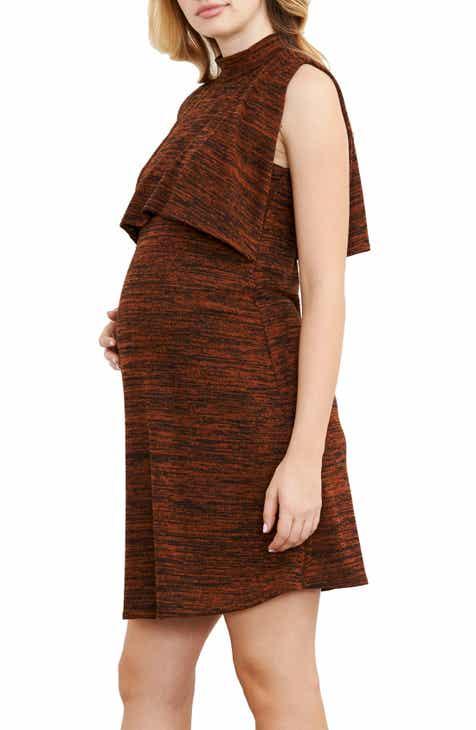 Maternal America Maternity/Nursing Knit Dress by MATERNAL AMERICA