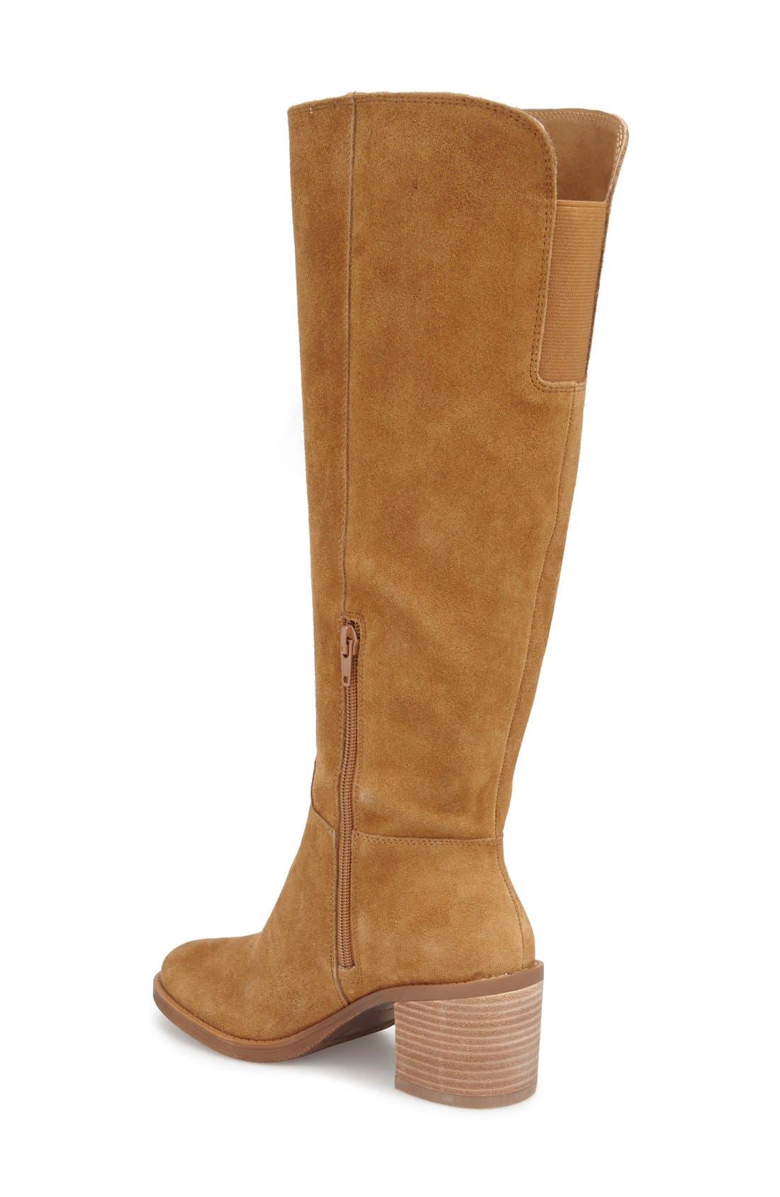 Alternate Image 2  - Lucky Brand Ritten Tall Boot (Women) (Wide Calf)