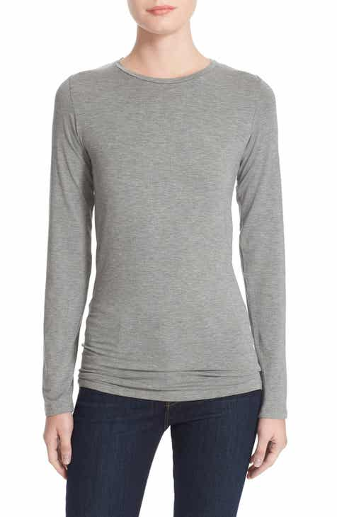 175abd56a02c8 Majestic Filatures Long Sleeve Crewneck Top
