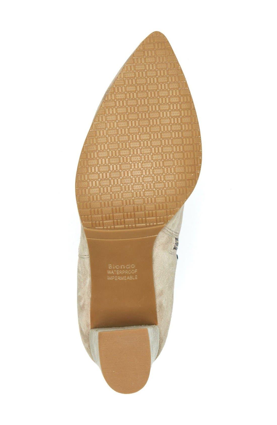 Alternate Image 4  - Blondo Tiana Waterproof Pointy Toe Bootie (Women)