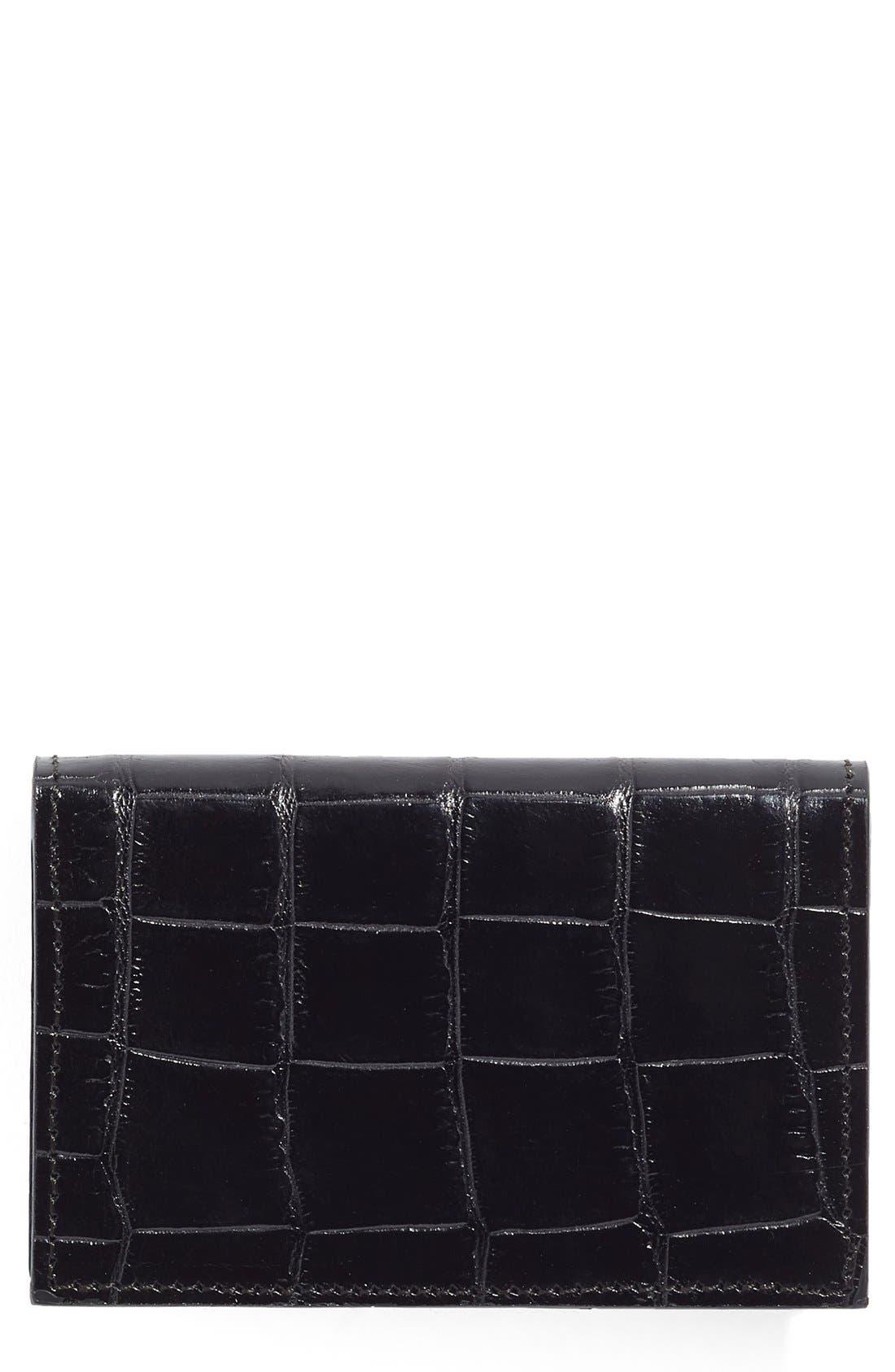 Main Image - Martin Dingman Leather Card Case
