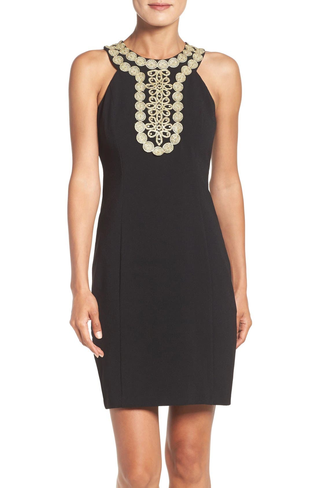 Main Image - Taylor Dresses Stretch Sheath Dress