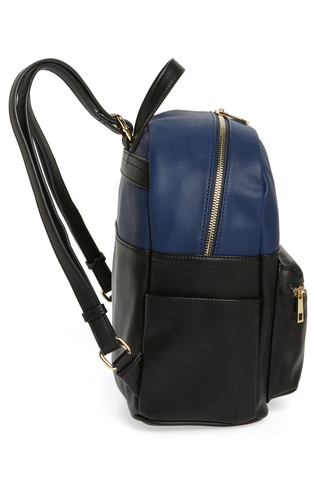Alternate Image 5  - BP. Colorblock Faux Leather Backpack