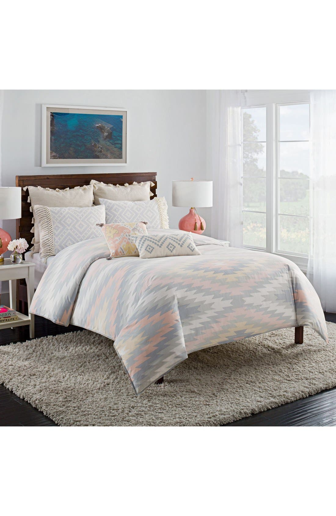 Alternate Image 1 Selected - cupcakes and cashmere Kilim Duvet Cover