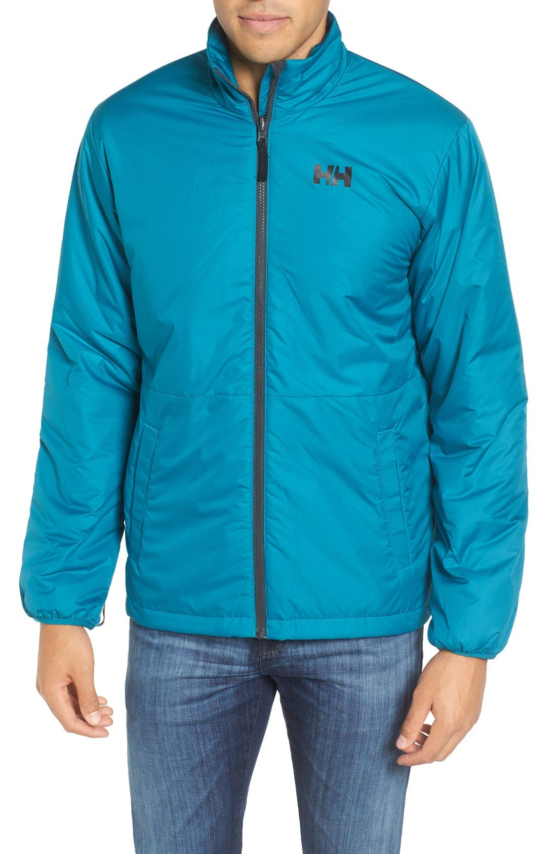 Squamish 3-in-1 Water Repellent Hooded Jacket,                             Alternate thumbnail 4, color,                             Ebony