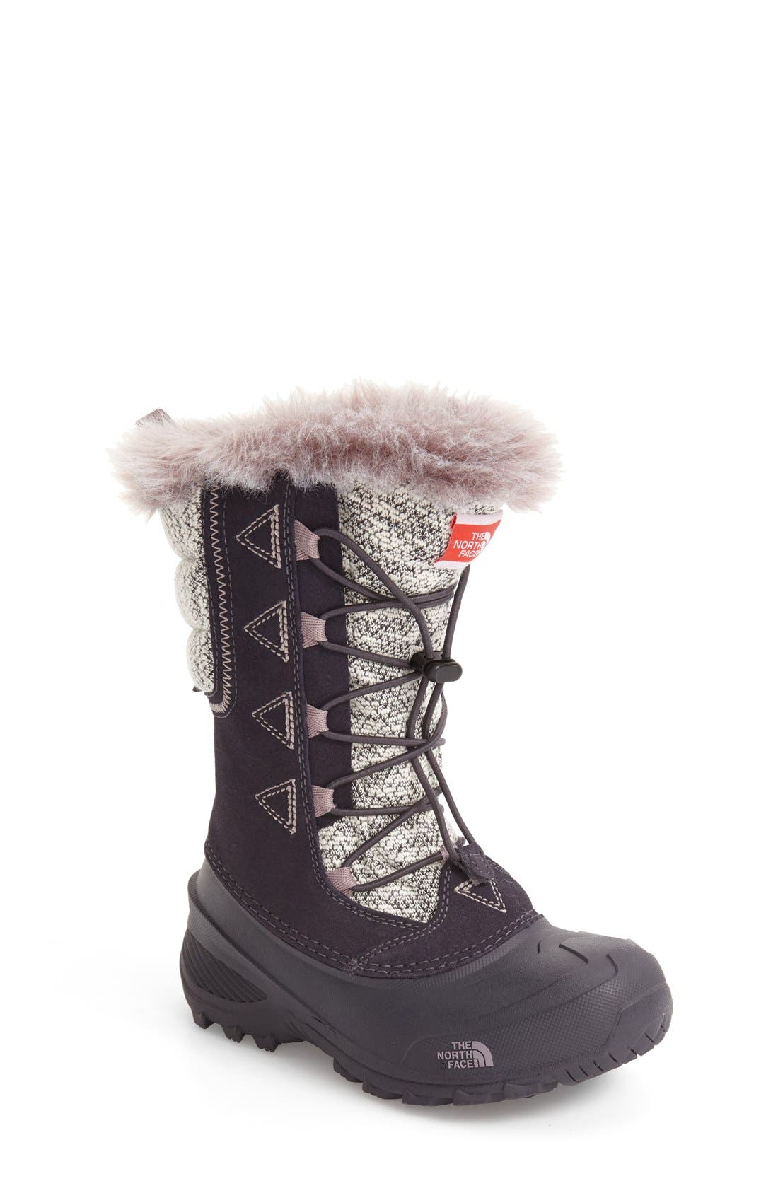 Alternate Image 1 Selected - The North Face Shellista Lace II Waterproof Boot (Toddler, Little Kid & Big Kid)