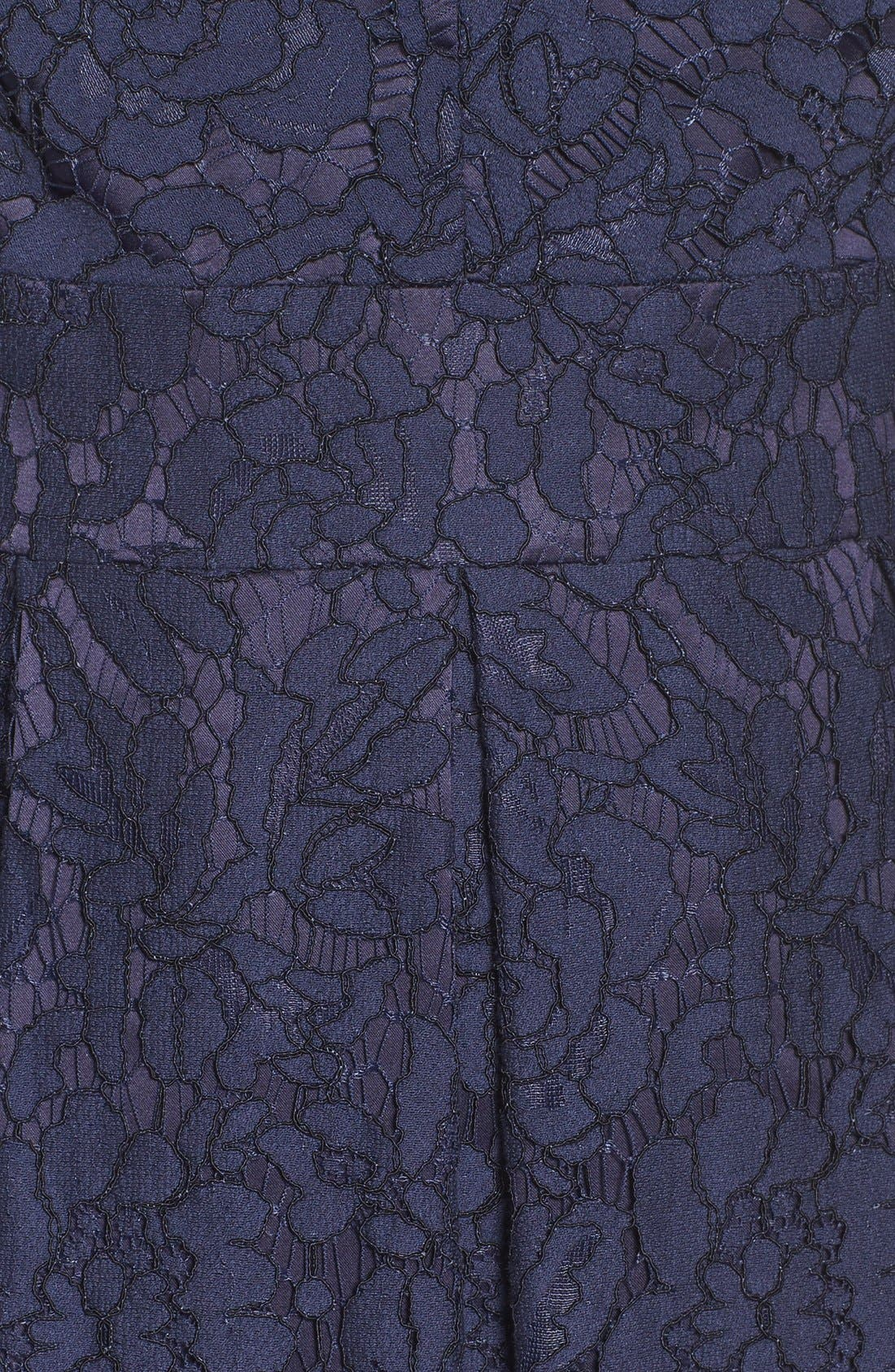 Alternate Image 6  - Eliza J Lace Fit & Flare Dress