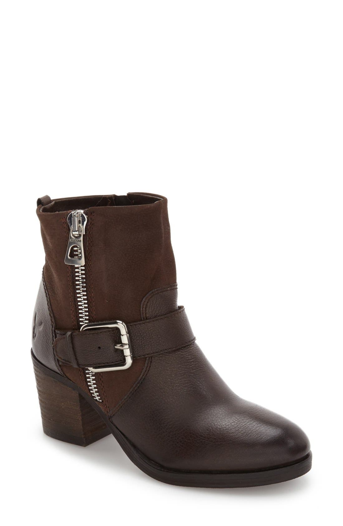 Balady Boot,                         Main,                         color, Brown Leather