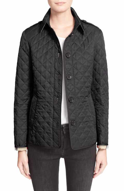 Women's Black Quilted & Puffer Coats & Jackets   Nordstrom