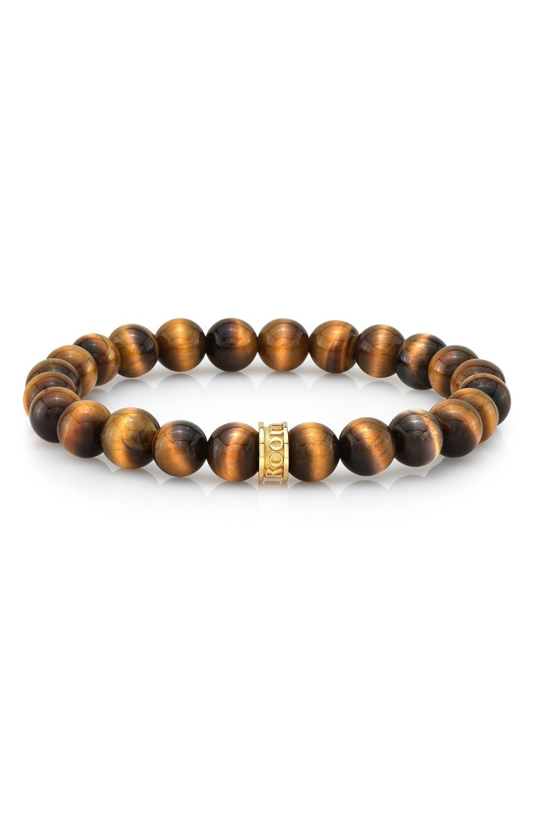 Main Image - Room101 Tiger's Eye Bead Bracelet