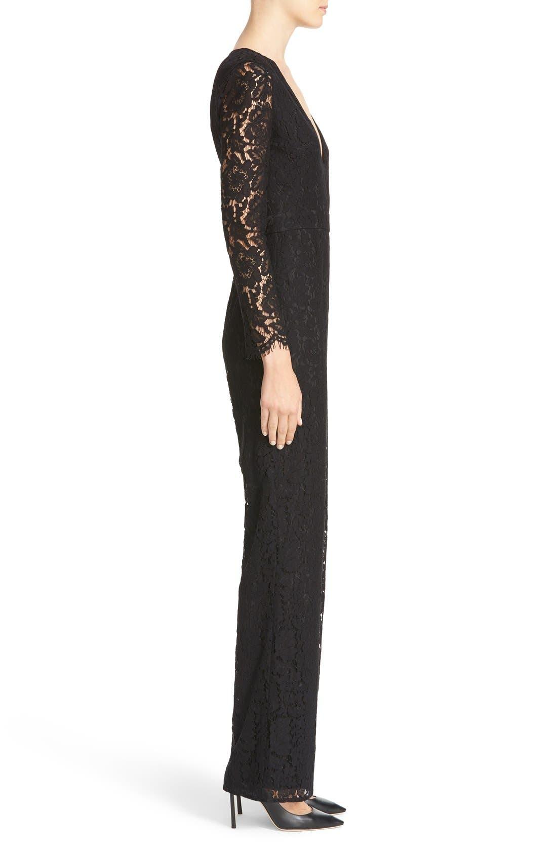Alternate Image 3  - Diane von Furstenberg Kyara Lace Jumpsuit