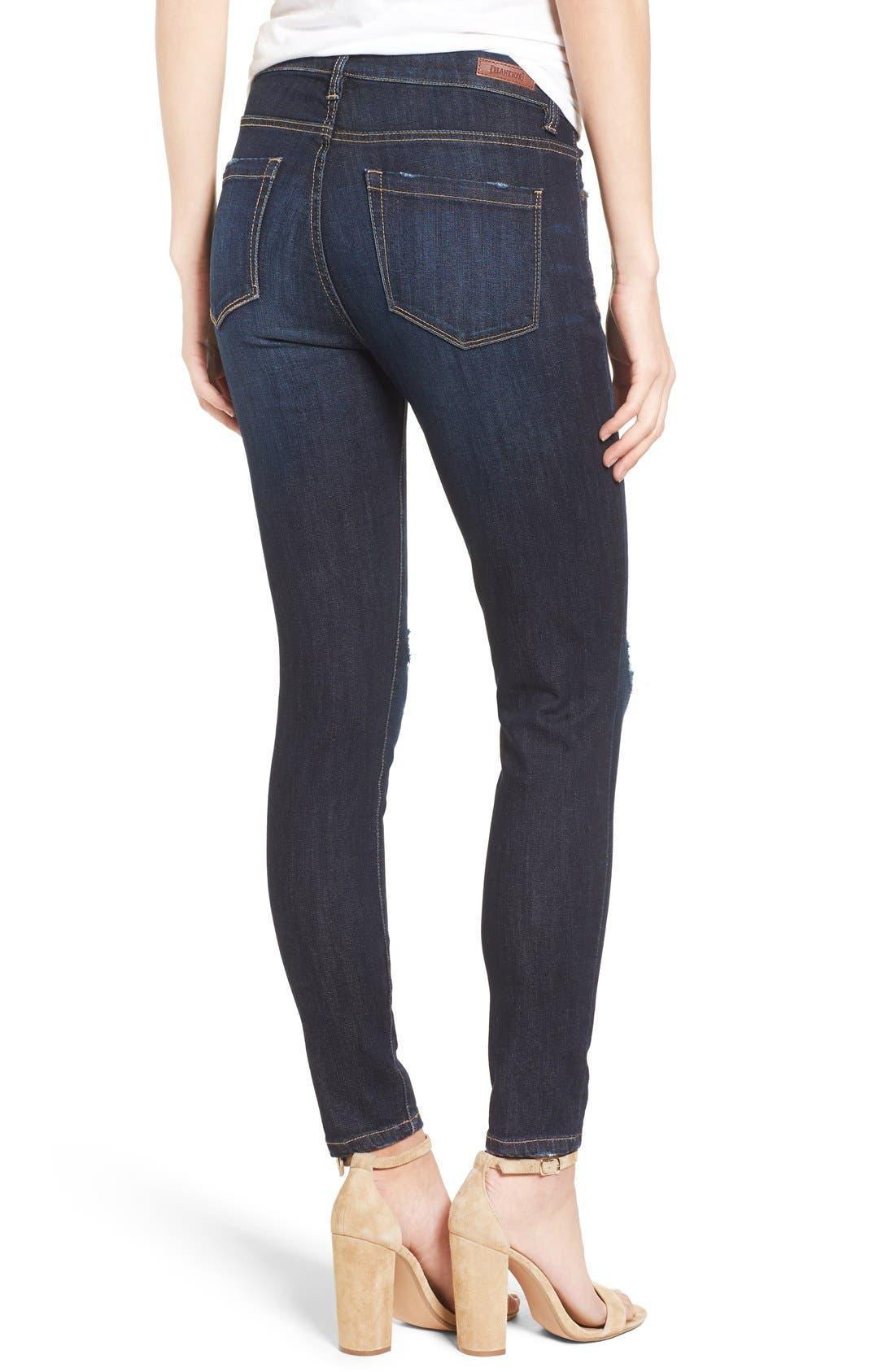 Alternate Image 2  - BLANKNYC Distressed Skinny Jeans (Fully Loaded)