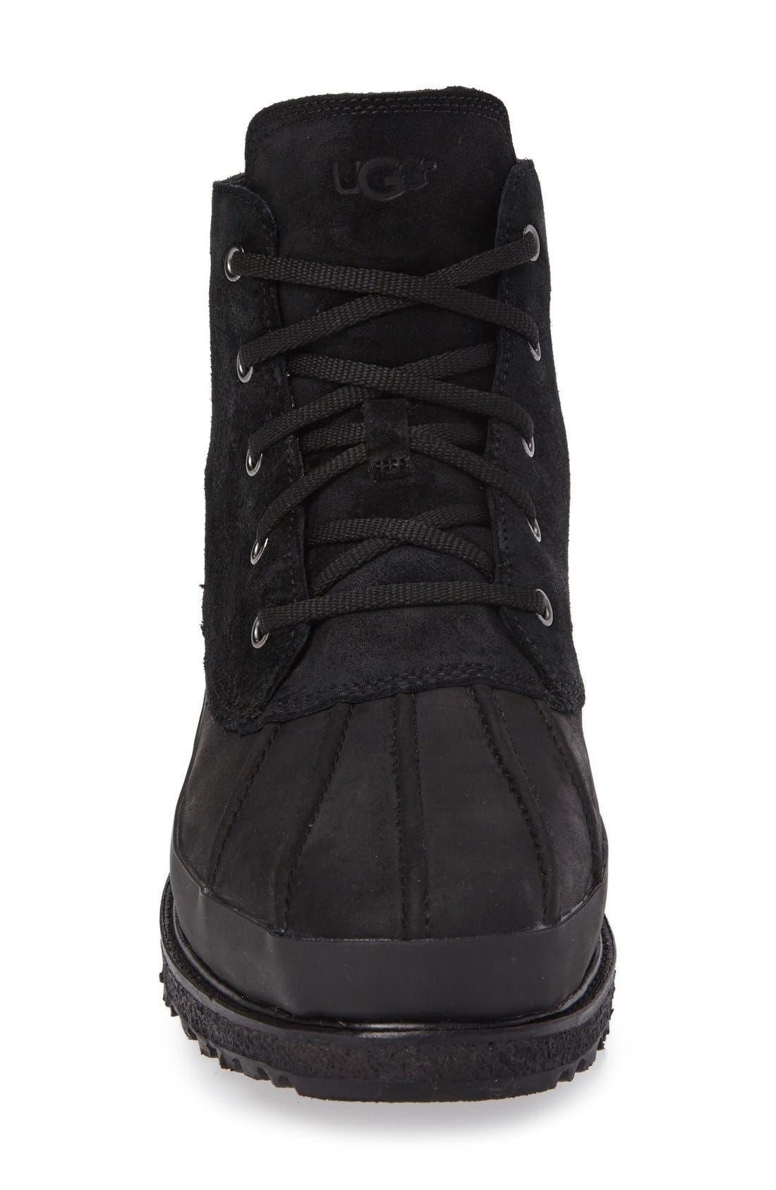 Fairbanks Waterproof Boot,                             Alternate thumbnail 3, color,                             Black