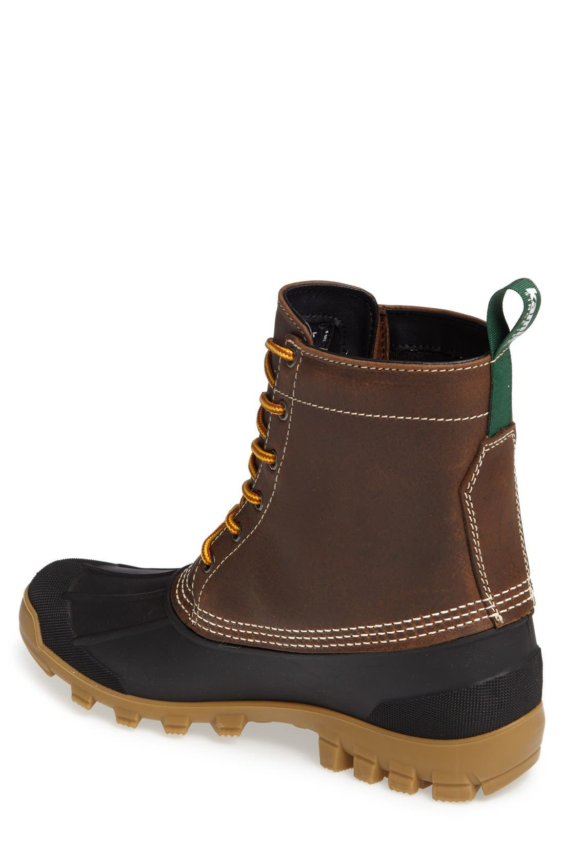 Yukon6 Waterproof Work Boot,                             Alternate thumbnail 2, color,                             Dark Brown Leather