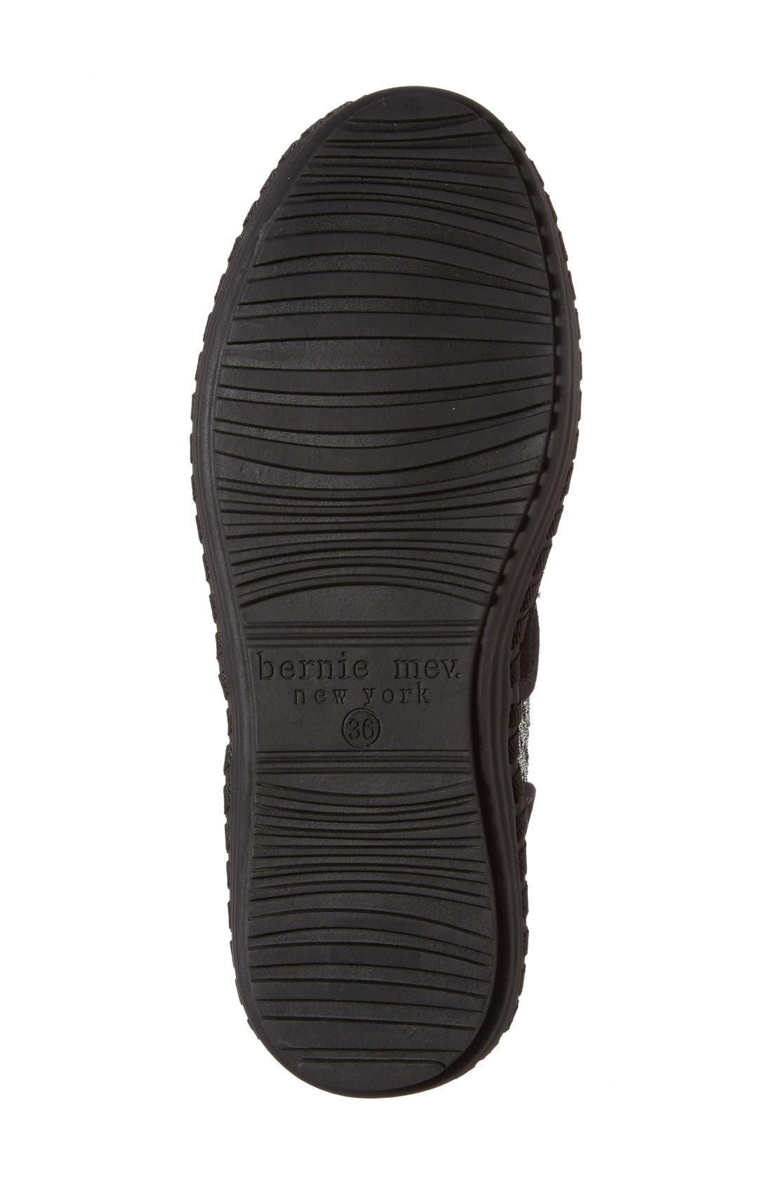 Alternate Image 4  - bernie mev. Faux Fur Lined Loafer Slipper (Women)