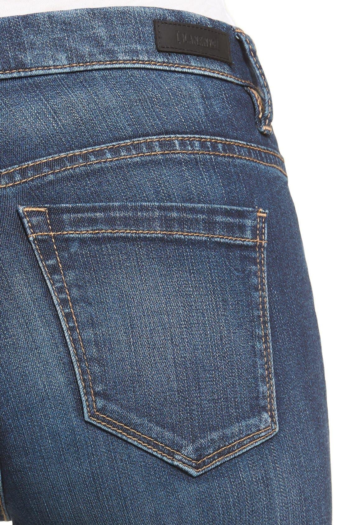 Alternate Image 4  - BLANKNYC Skinny Jeans (The Real Feel)