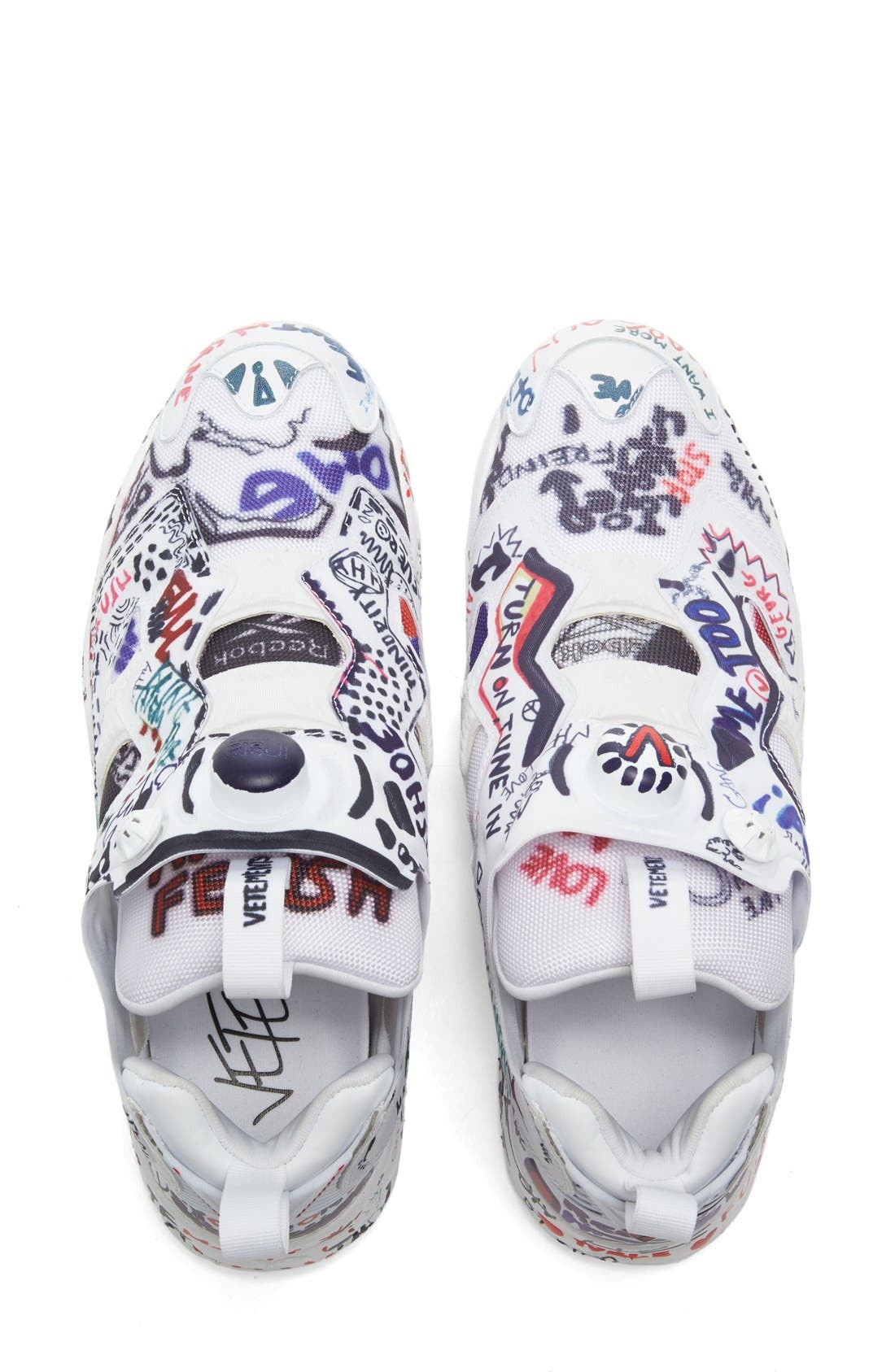 Alternate Image 3  - Vetements x Reebok Graffiti Instapump Fury Sneaker (Women)
