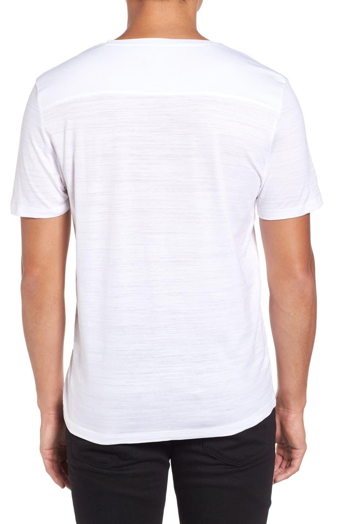 Tilson 50 V-Neck T-Shirt,                             Alternate thumbnail 2, color,                             White