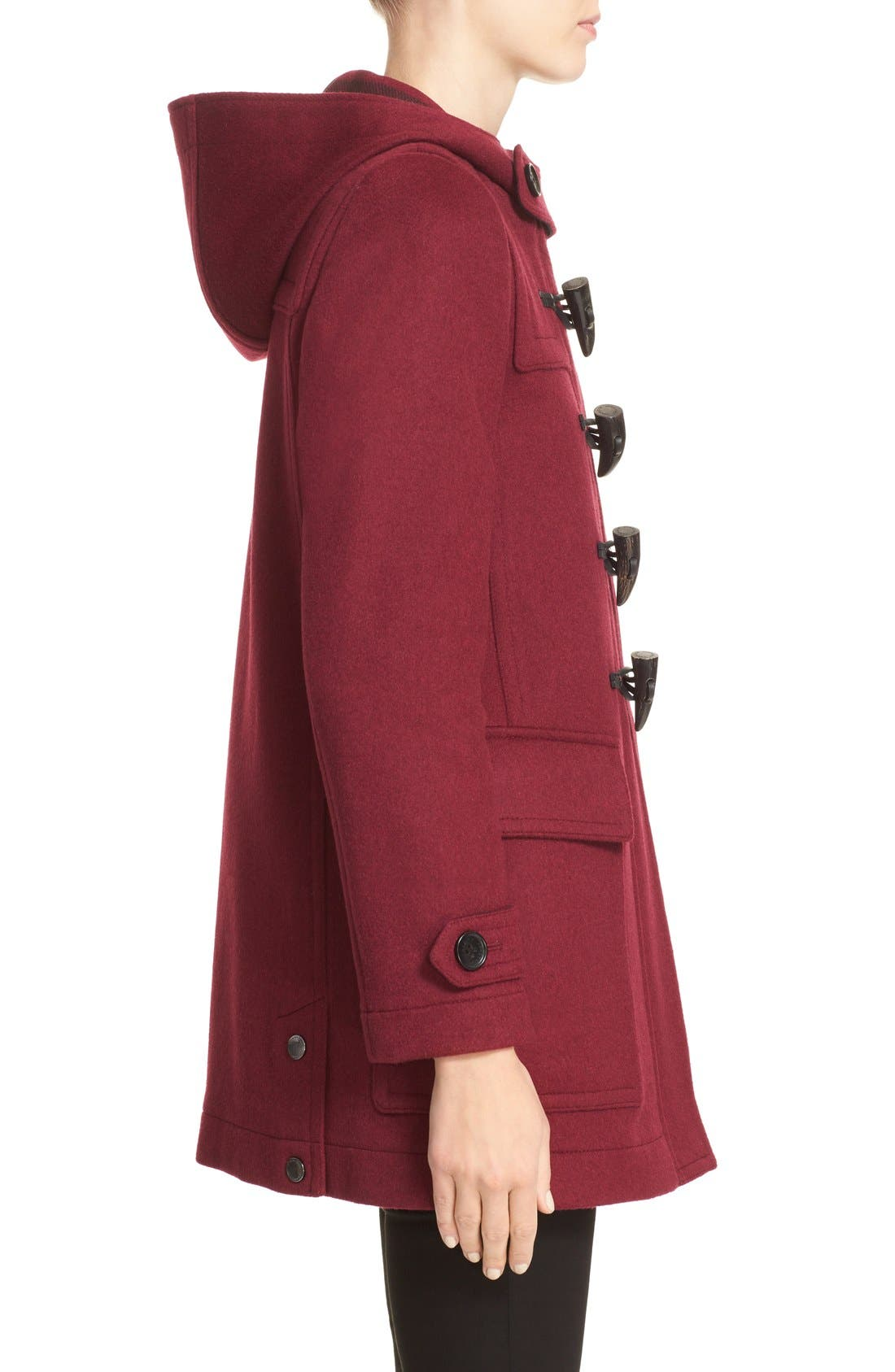 Alternate Image 5  - Burberry 'Baysbrooke' Wool Duffle Coat