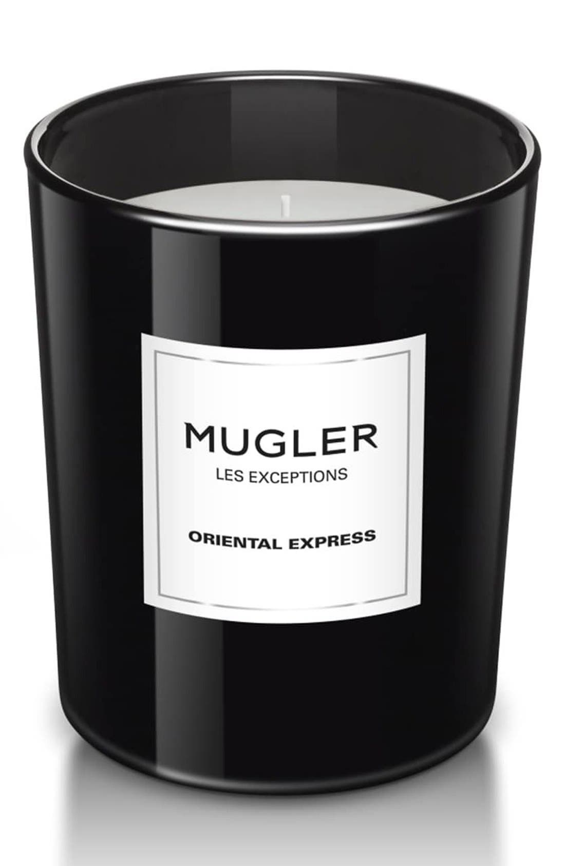Mugler 'Les Exceptions - Oriental Express' Candle,                             Main thumbnail 1, color,                             No Color