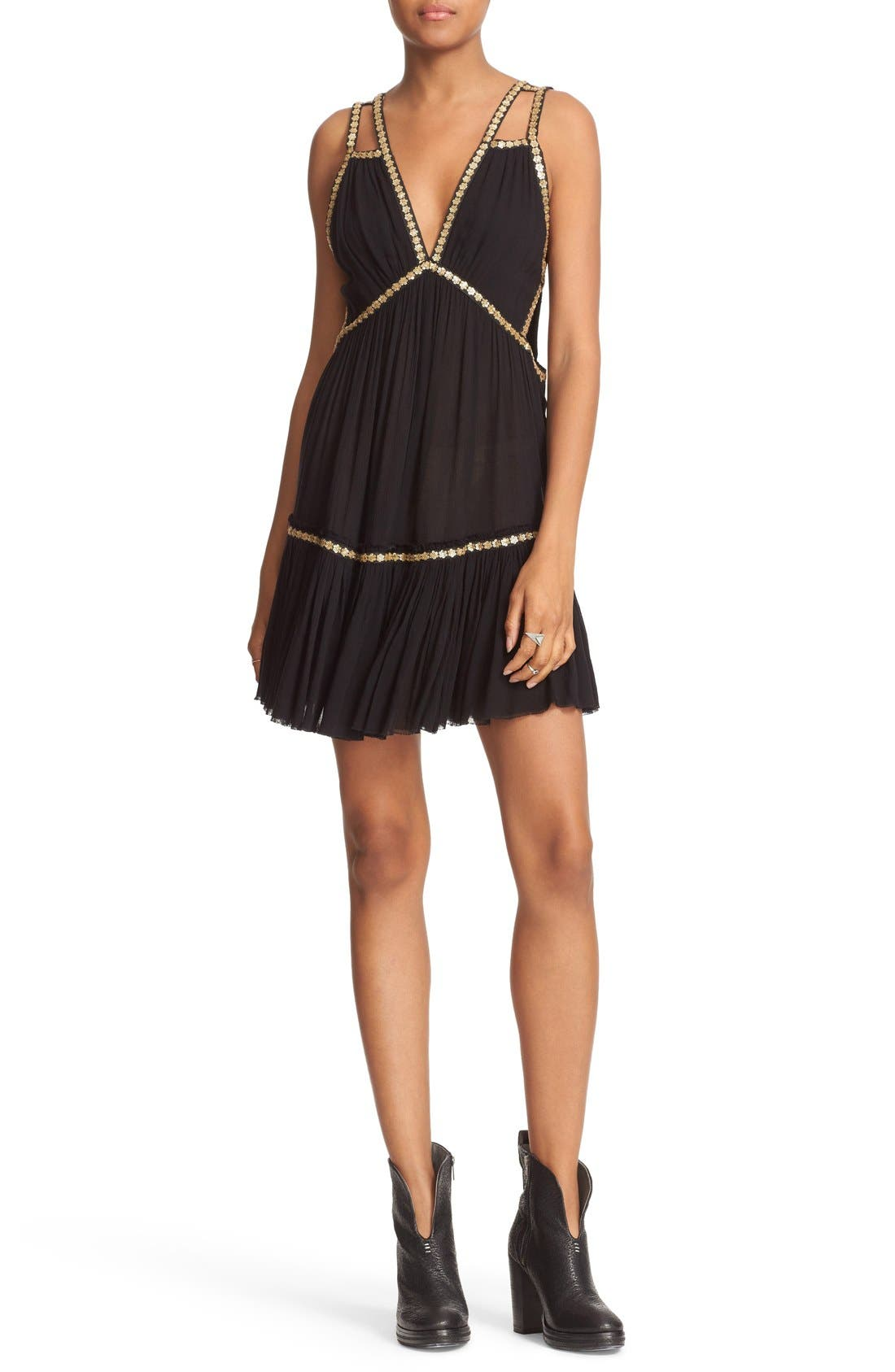 Main Image - Free People Shine Marisol Minidress