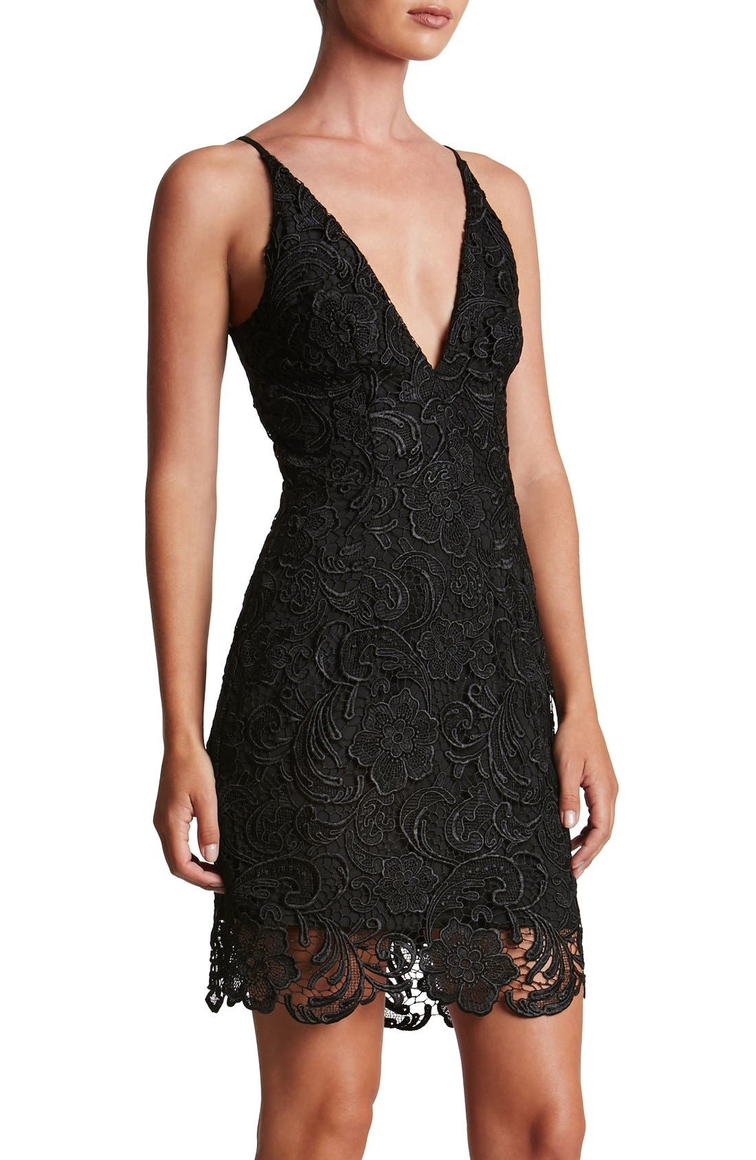 Dress the Population Ava Lace Minidress