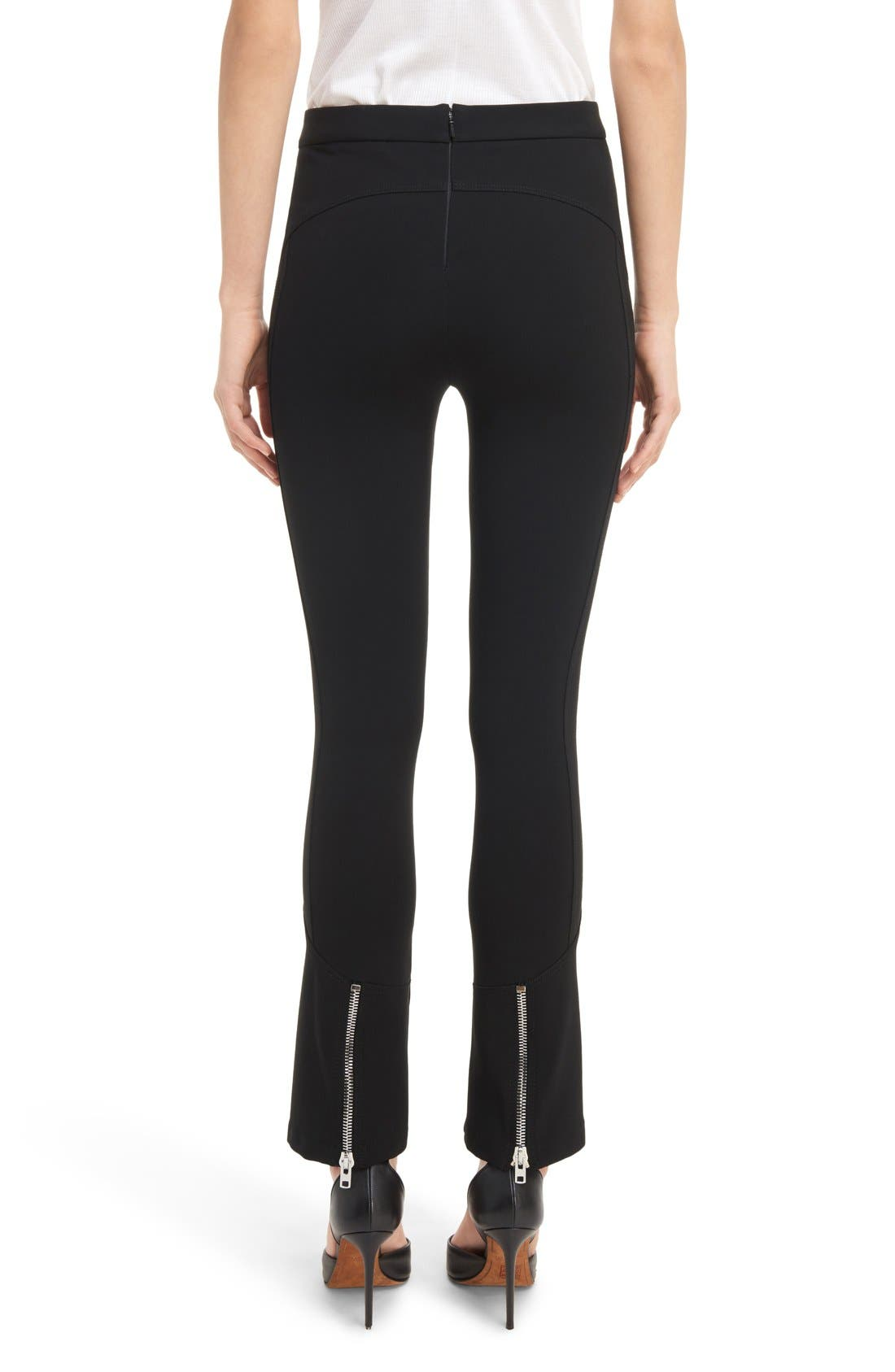 Alternate Image 3  - Givenchy Crop Flare Leggings