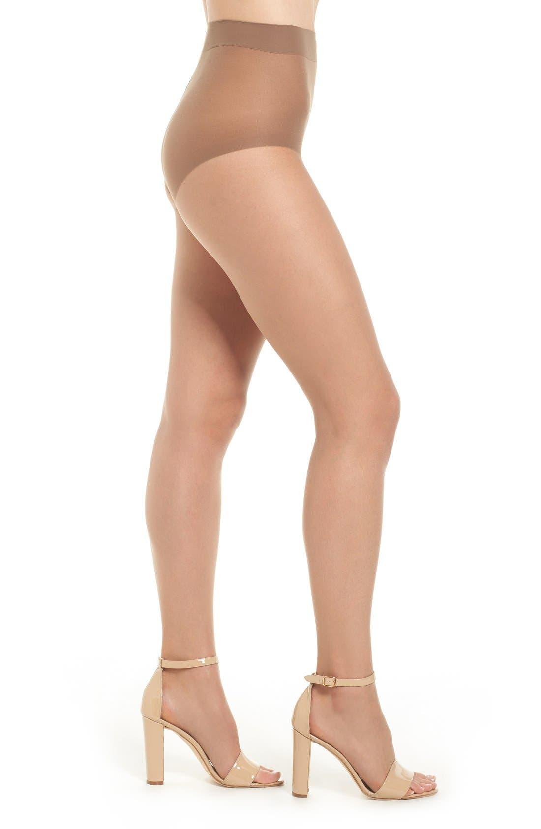 Donna Karan The Nudes Toeless Pantyhose,                         Main,                         color, B04